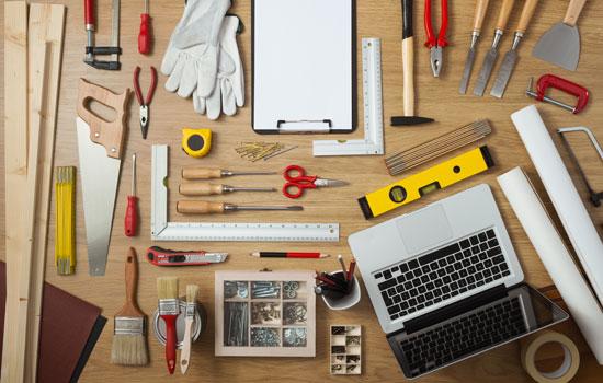 Umfangreiches Werkzeug
