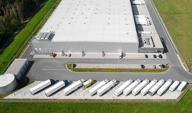 Logistische Herausforderung